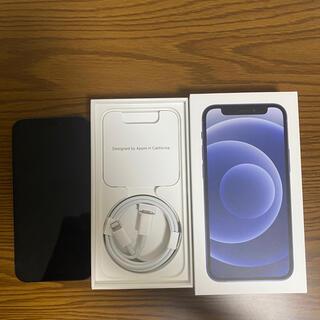 iPhone - iPhone 12 mini ブラック 64 GB SIMロック解除済み