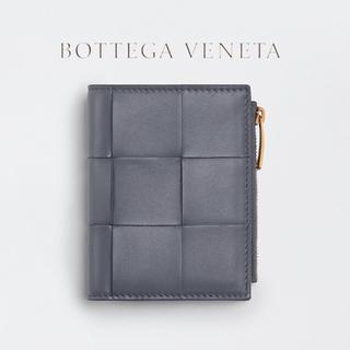Bottega Veneta - BOTTEGA VENETA ボッテガ カセット イントレチャート 二つ折り財布