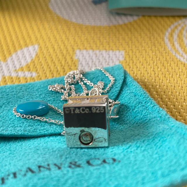 Tiffany & Co.(ティファニー)のティファニーシルバーネックレス 廃盤品 レディースのアクセサリー(ネックレス)の商品写真