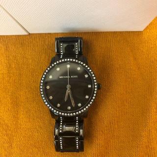 マイケルコース(Michael Kors)のマイケルコース  腕時計 ブラック (腕時計)