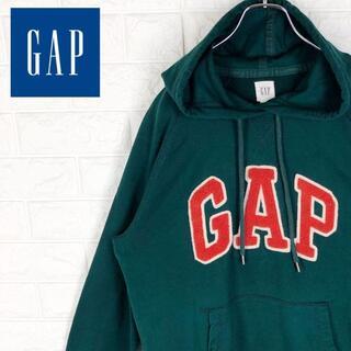 ギャップ(GAP)のギャップ パーカー ワンポイント立体ロゴ ゆるだぼ オーバーサイズ プルオーバー(パーカー)