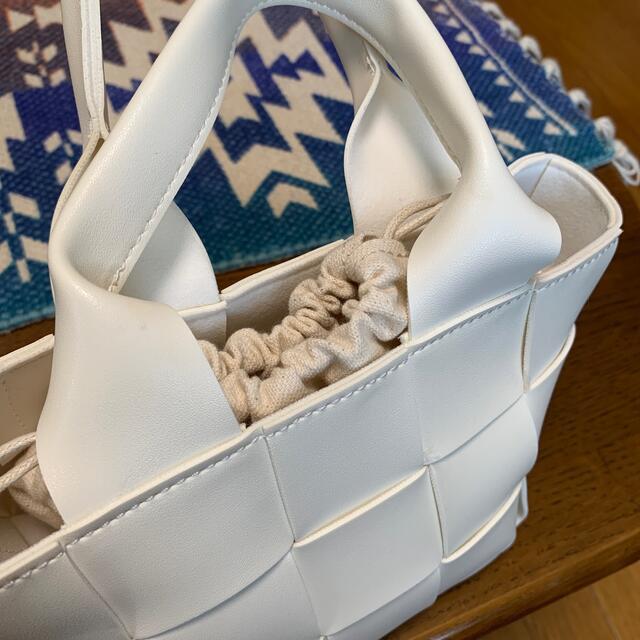 SeaRoomlynn(シールームリン)のsearoomlynn ECO LEATHER スクエアバッグ レディースのバッグ(ハンドバッグ)の商品写真