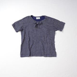 ピンクハウス(PINK HOUSE)のPINK HOUSE ピンクハウス ドット リボン トップス(Tシャツ(半袖/袖なし))