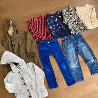Branshes - 【バラ売り可】120cm男の子秋冬服セット