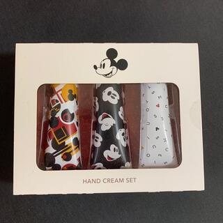 ディズニー(Disney)のシアバター ハンドクリーム ミッキー3つセット(ハンドクリーム)