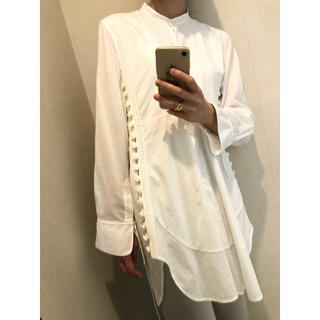 Chloe - Chloe クロエ ロングドレスシャツ ホワイト
