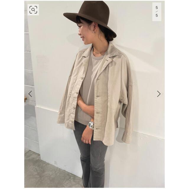 Plage(プラージュ)のArmyシャツ ベージュ レディースのジャケット/アウター(ミリタリージャケット)の商品写真