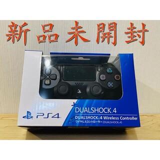 PlayStation4 - PS4 ワイヤレスコントローラー 純正 デュアルショック4 ブラック