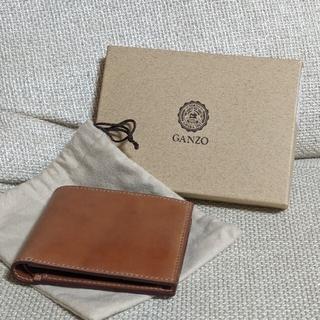 GANZO - 【GANZO】SHELL CORDOVAN 2 小銭入れ付き二つ折り財布