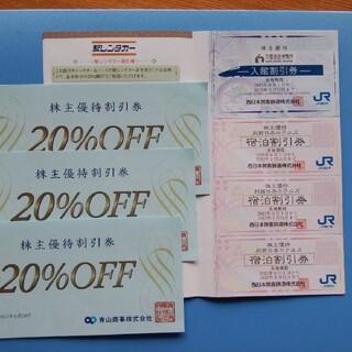 ・ 青山  20%割引券        ・ JR西日本グループ 割引券(その他)