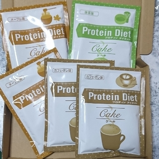 DHC - 5袋 DHC プロティンダイエット Protein Diet ケーキ
