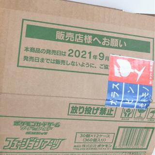 ポケモン - 【新品未開封】フュージョンアーツ 1カートン(12BOX)