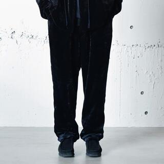 COMOLI - 【21AW/新品】comoli シルク別珍 ドローストリングパンツ サイズ 1