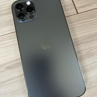 iPhone - iPhone 12 pro グラファイト 128 GB AppleCare付
