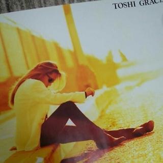 【お値下げ中!】TOSHI 『GRACE』 特典ポスター B2サイズ(印刷物)