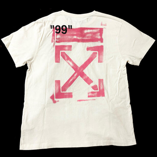 OFF-WHITE - off-white オフホワイト Tシャツ 19ss OVER TEE XS