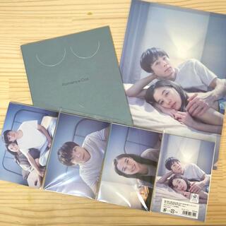 映画「ロマンスドール」パンフレット・クリアファイル・ポストカードセット(印刷物)