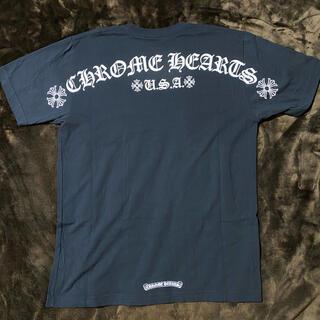Chrome Hearts - クロムハーツ Chrome Hearts Lサイズ バック Tシャツ ブラック