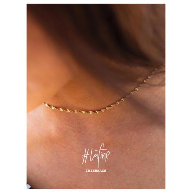 【大人気‼️】IRIE BEACH  lufine チェーンネックレス レディースのアクセサリー(ネックレス)の商品写真