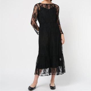 URBAN RESEARCH - 美品◆kaene(カエン) 総レースワンピース ドレス