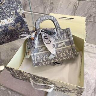 ディオール(Dior)の2色刺繍Dior・ディオールショルダーバッグ(小物入れ)