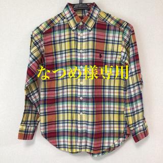 Ralph Lauren - ラルフローレン チェックシャツ 長袖 シャツ 140cm ボタンダウン