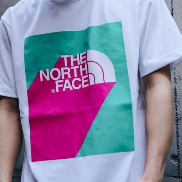 THE NORTH FACE(ザノースフェイス)の完売品!ノースフェイス Tシャツ XL 3Dロゴt メンズのトップス(Tシャツ/カットソー(半袖/袖なし))の商品写真