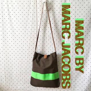 マークバイマークジェイコブス(MARC BY MARC JACOBS)のmarcbyMARCJACOBSマークジェイコブスUS限定レザーショルダーバッグ(その他)