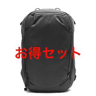 Peak Design トラベルバック 45L ブラック【カメラキューブ付】