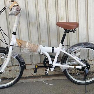 折りたたみ 自転車 20インチ シマノ 6段変速