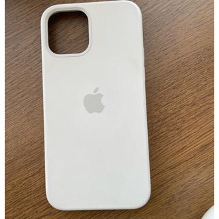 Apple - Apple iPhone12 12pro 純正シリコンケース ホワイト