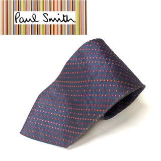 ポールスミス(Paul Smith)の良品❗️英国名門《Paul Smith》英国製シルク100%ネクタイ(ネクタイ)