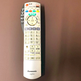 パナソニック(Panasonic)のPanasonic テレビリモコン 中古品(その他)