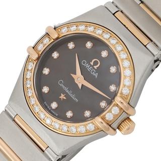 オメガ(OMEGA)のオメガ OMEGA コンステレーションミニ 腕時計 レディース【中古】(腕時計)