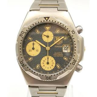 タグホイヤー(TAG Heuer)のTAGHEUER 220.206 プロフェッショナル クロノ チタニウム 時計(腕時計(アナログ))