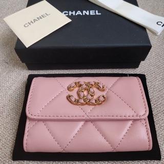 CHANEL - ✩人気✩ シャネル❀ コインケース カード入れ 財布 ピンク❤