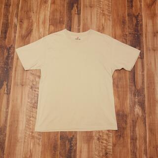 ヘインズ(Hanes)のBEEFY 半袖Tシャツ XLサイズ メンズ ビーフィー ベージュ KL7(Tシャツ/カットソー(半袖/袖なし))