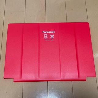 パナソニック(Panasonic)のパナソニックレッツノートSVシリーズ専用カバー赤(PC周辺機器)
