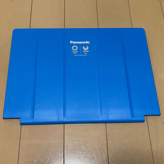 パナソニック(Panasonic)のパナソニックレッツノートSVシリーズ専用カバー青(PC周辺機器)