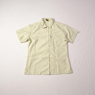 モンベル(mont bell)のmont-bell モンベル 半袖 チェック シャツ(シャツ/ブラウス(半袖/袖なし))