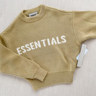 フィアオブゴッド(FEAR OF GOD)の【新作】Essentials sweater size XS (ニット)