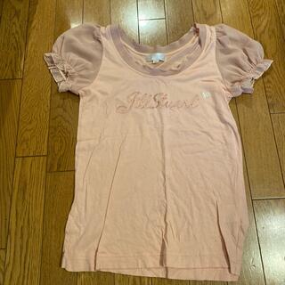 JILLSTUART - 【JLLL STUART】ピンク半袖シャツ フレア袖
