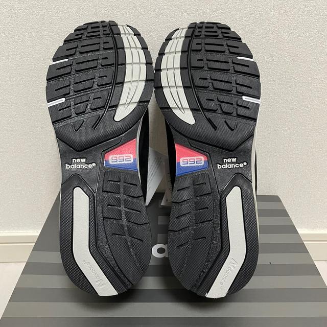 New Balance(ニューバランス)のNEW BALANCE M 992 GG  BLACK 27.5cm  メンズの靴/シューズ(スニーカー)の商品写真