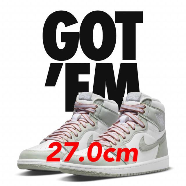 NIKE(ナイキ)のAir Jordan 1  Seafoam 27.0cm メンズの靴/シューズ(スニーカー)の商品写真