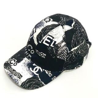 素敵?★シャネル ★ロゴ ブラック 帽子ノベルティキャップ#5966