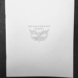 シュウエイシャ(集英社)の【マスカレードナイト】パンフレット(印刷物)