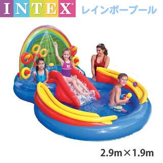 INTEX レインボーリングプレイセンター 家庭用プール