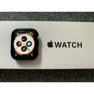 Apple Watch - Apple Watch series4 セルラー 44mm 保護カバー付き