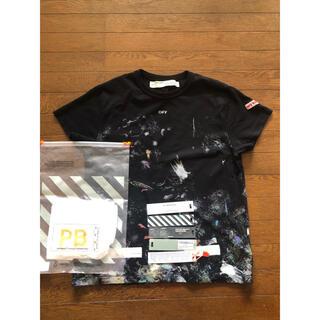 オフホワイト(OFF-WHITE)のoff-white ギャラクシーTシャツ(Tシャツ/カットソー(半袖/袖なし))