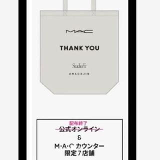 MAC - 新品 赤西仁 MACXJIN 先行販売限定 ノベルティ THANKYOU バック
